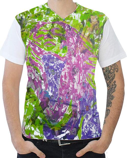 Shirt - Wind blows blues - full color - Men