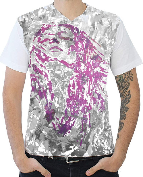 Shirt - Wind blows blues - B&W Pink - Men