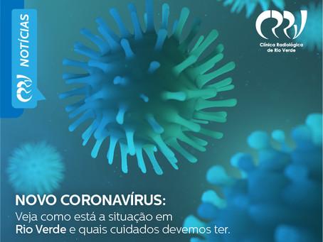 NOVO CORONAVÍRUS: Veja como está a situação em Rio Verde e que cuidados devemos ter