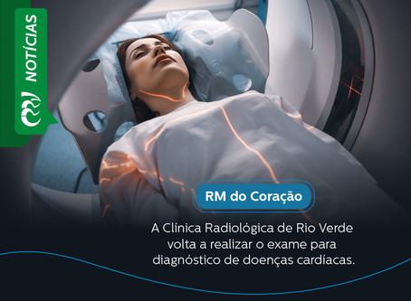 RM do Coração – Clínica volta a realizar o exame para diagnóstico de doenças cardíacas