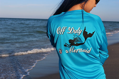 Off Duty Mermaid UV 50+ Protection Long-sleeve Shirt
