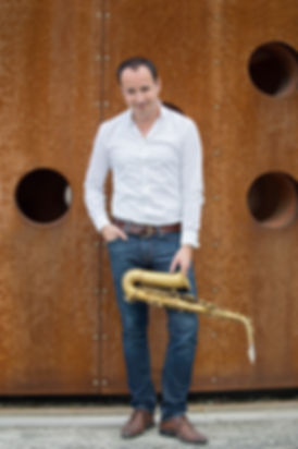 Zolbert with his Eastman alto saxophone