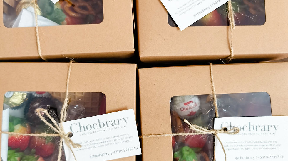 4xChocolate Platter Gift Box 巧克力礼盒x4