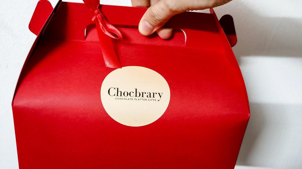 Chocolate Platter Carrier Box 巧克力手拿礼盒