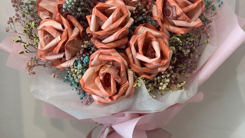 Money Flower Bouquet 钱花花束