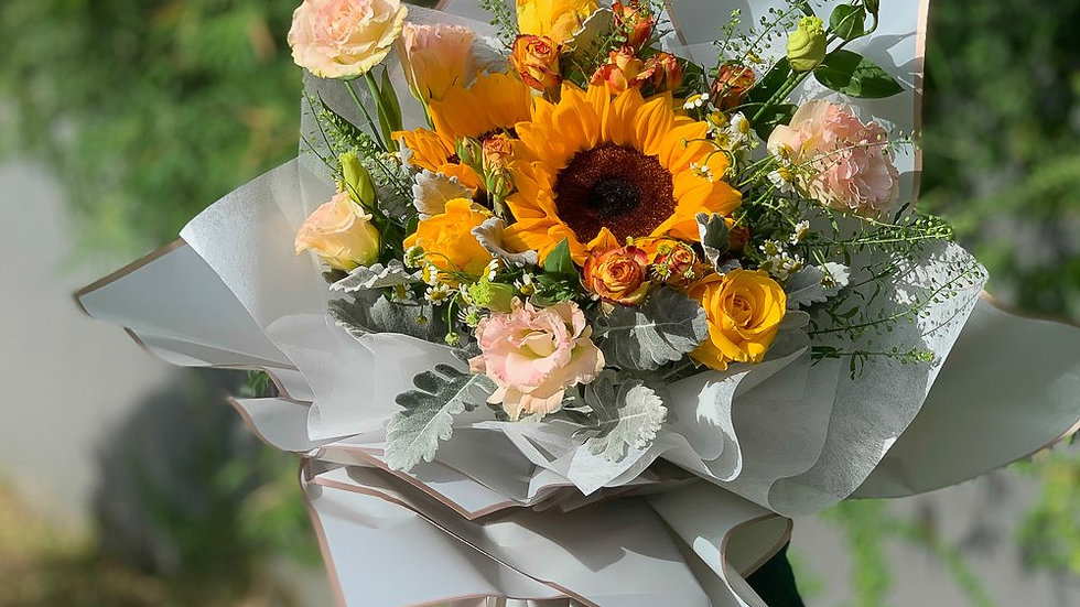 Fresh Flower Bouquet 鲜花花束