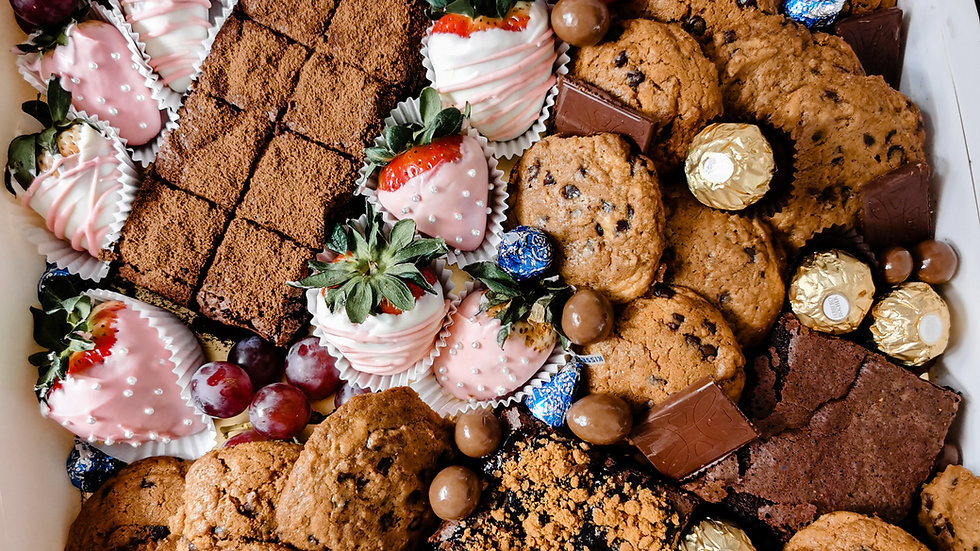 Luxury Chocolate Platter Gift Box 豪华巧克力礼盒