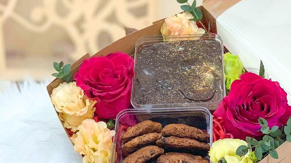 Sweet Lover 巧克力饼巧克力核桃蛋糕礼盒