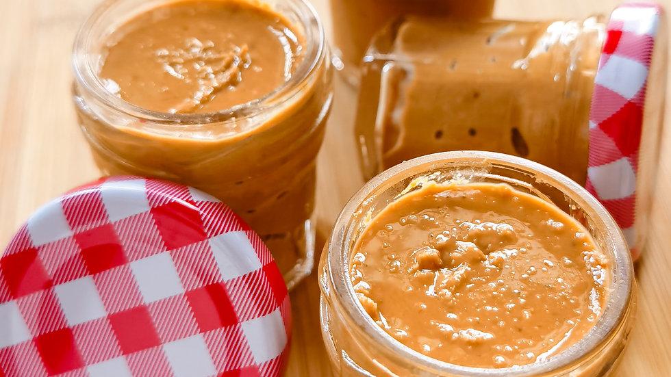 5xMini 100% Pure Peanut Butter 自制纯花生酱无添加 5罐迷你