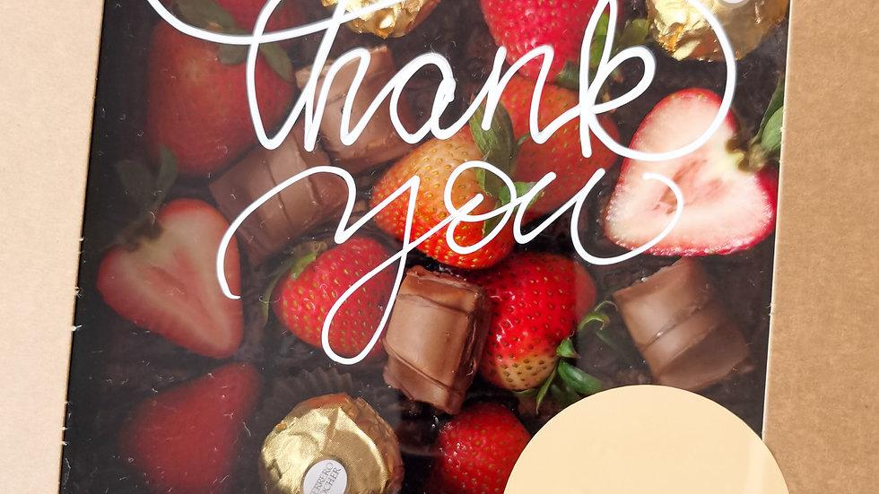 Rocher Brownies with custom greetings 客制祝贺语