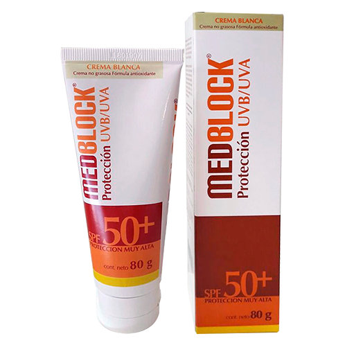 MEDBLOCK Protección UVB/UVA - crema blanca