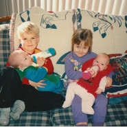 I have 3 Brothers (1 not pictured) and 1 sister!