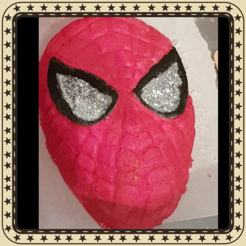 Spiderman Bath Bomb