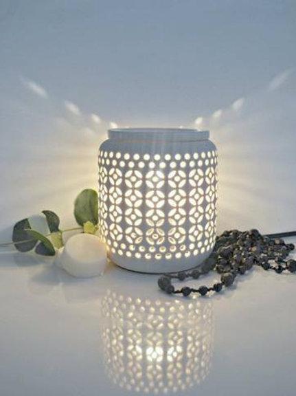 Ceramic White electric Melt Warmer
