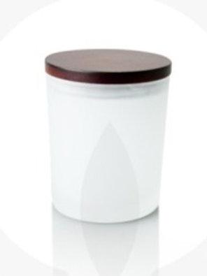 Wooden Lid Soy Jar