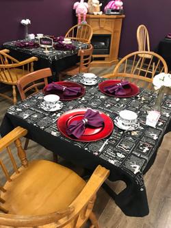 Wonderland Tea Room Online Auction