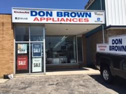 Don Brown Appliances Online Auction