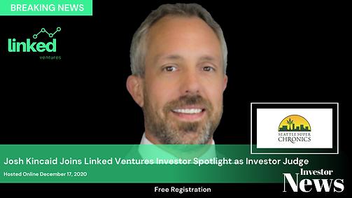 Announcing Investor Judge Josh Kincaid.p