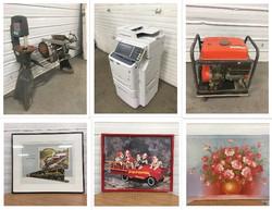 Tools, Artwork, Etc. Auction