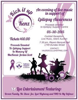 Kick it for Kenz Fundraiser