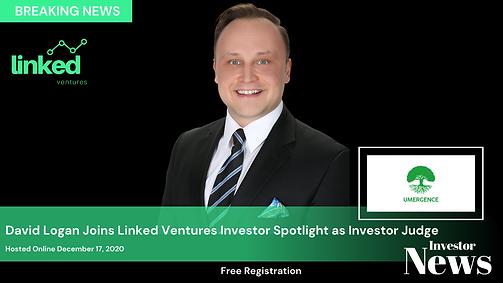 Announcing Investor Judge David Logan.pn
