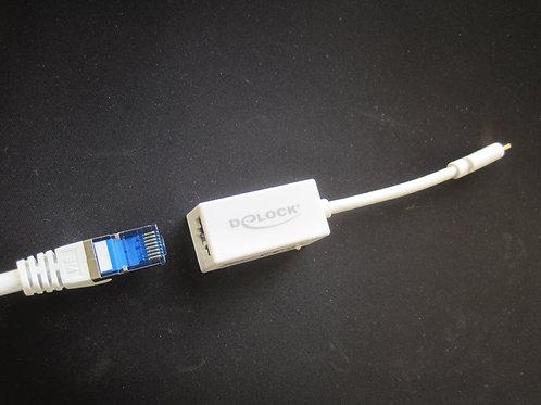 Delock RJ45 naar USB-C adapter voor Samsung