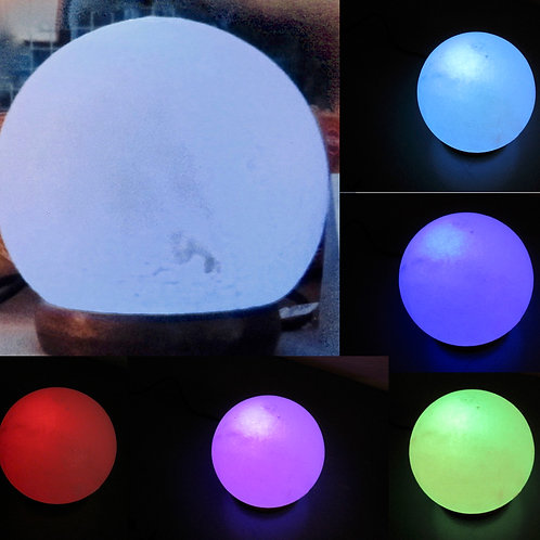 Zoutlamp multi-color LED met USB-aansluiting
