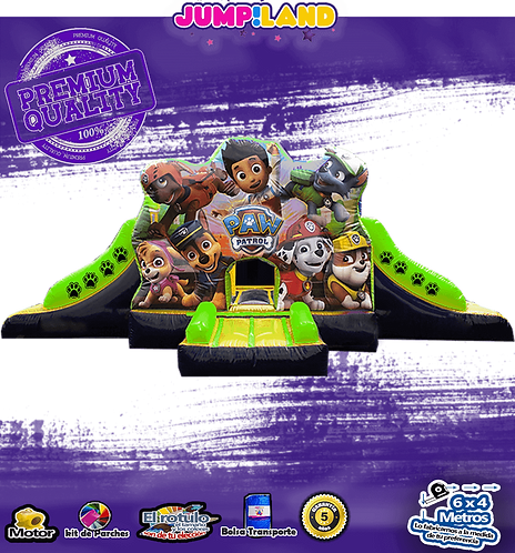 Inflable paw patrol club