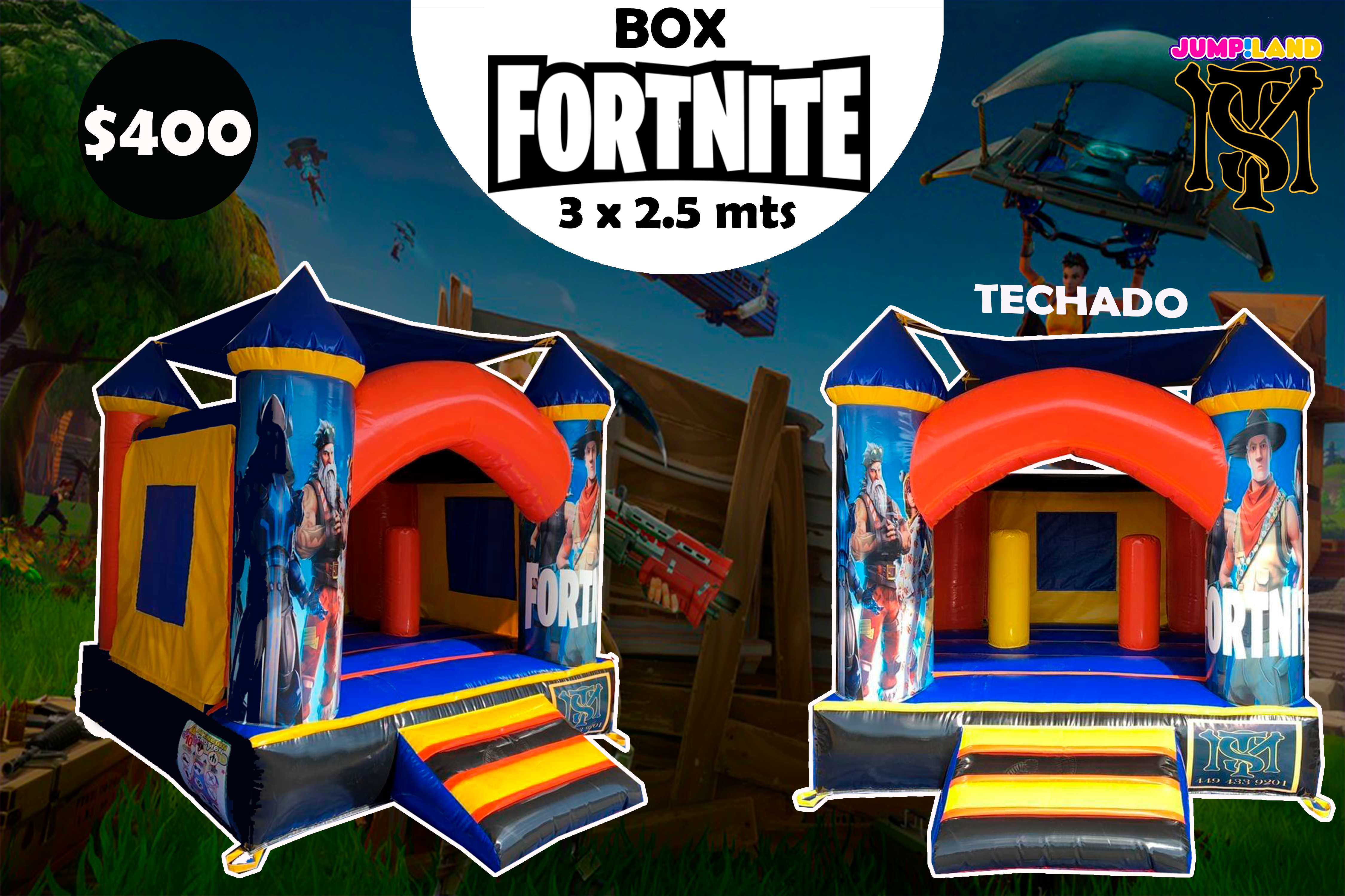 Inflable FortNite