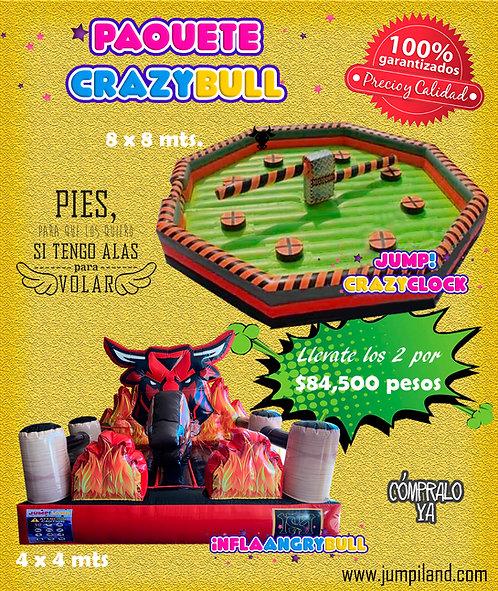 Paquete Crazy Bull
