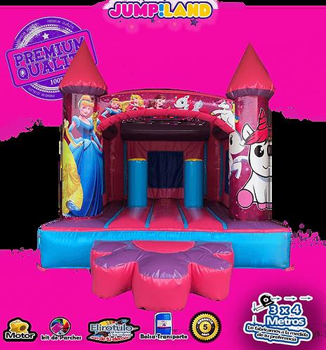 Castillo princesa pony