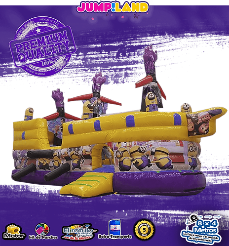 Inflable Galeon Minion