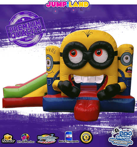 Inflable Minion Club