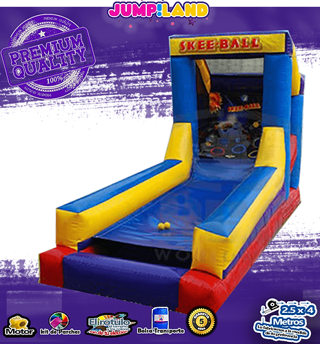 Inflable Skee Ball