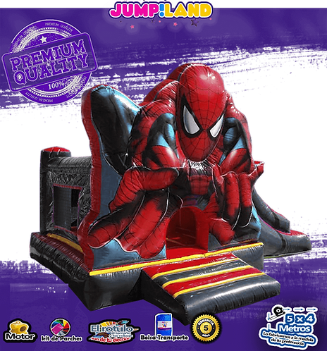 Inflable Combi Spidepman