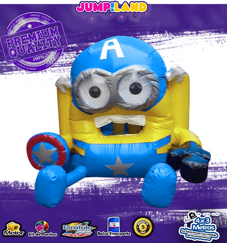 Inflable minion America