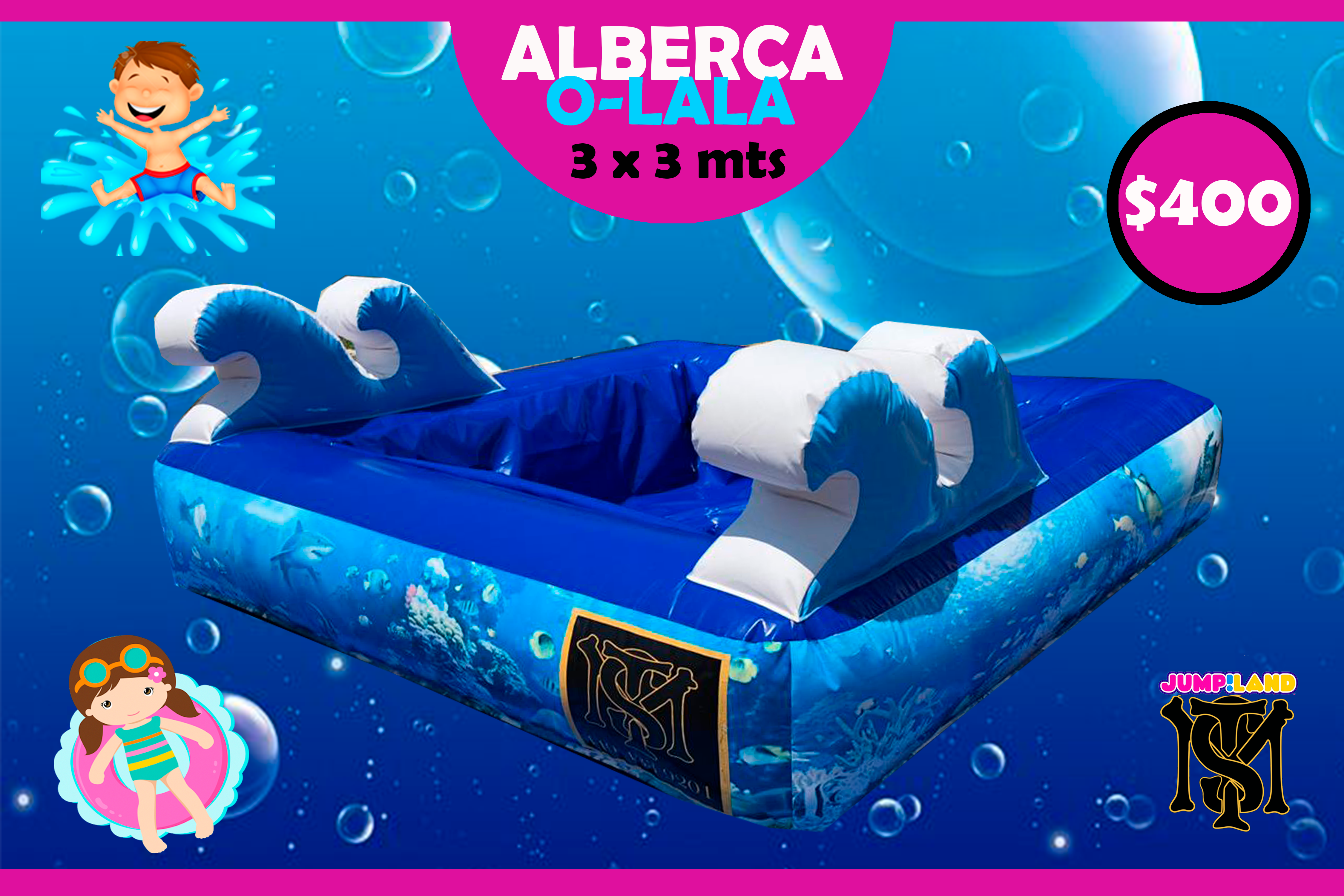 Alberca Inflable O-lala