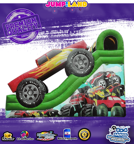 Tobogan inflable Moster Truck