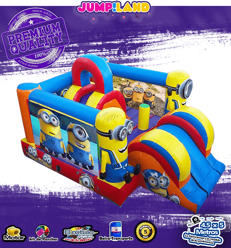 Inflable Minion House