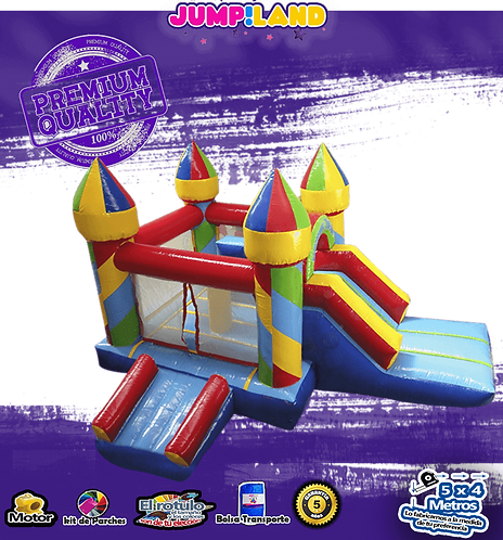Inflable Caramelo Escalador