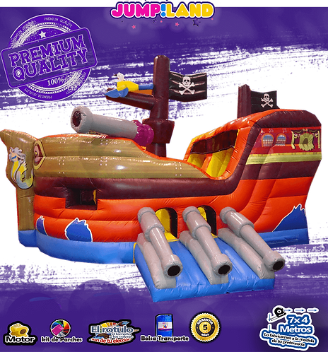 Inflable Bucanero