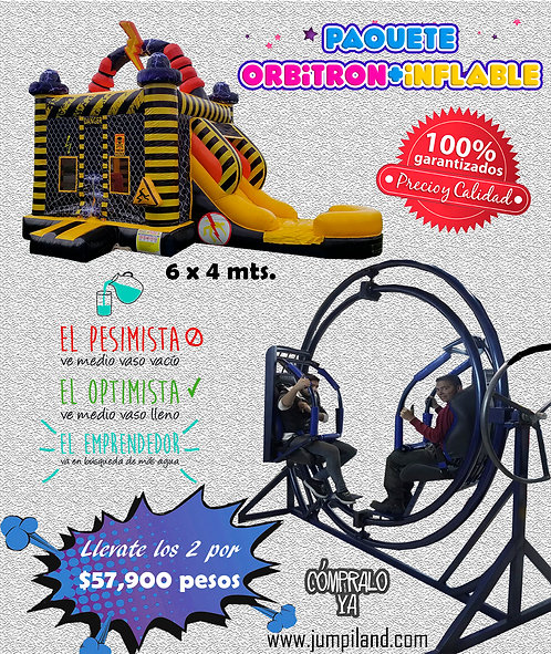 Paquete Orbitron + Inflable