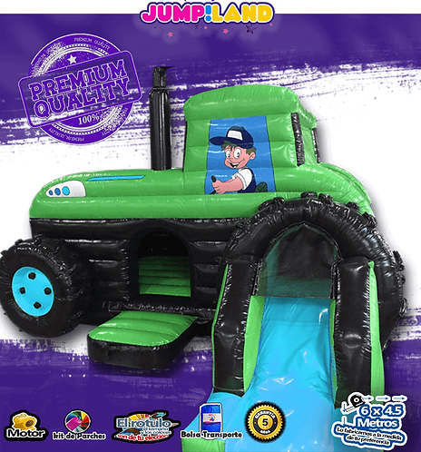 Inflable Brica Tractor