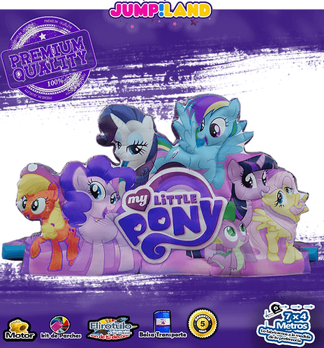 Inflable Escaladora My Little pony