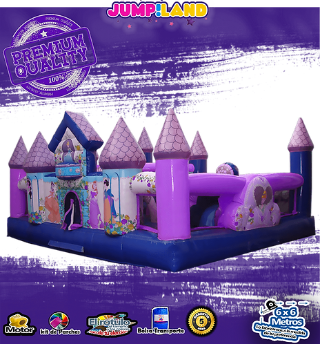 Inflable Villa Princesas
