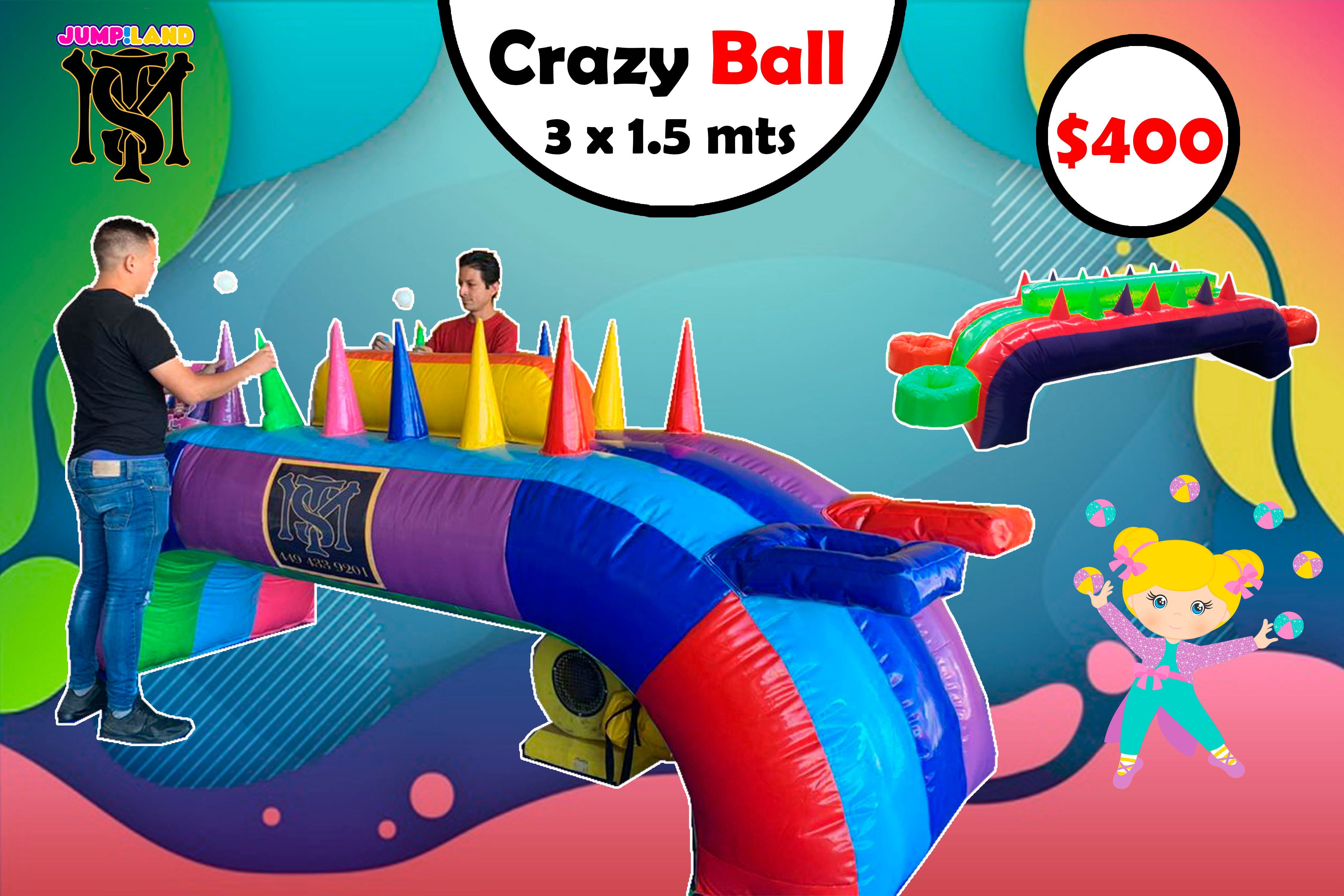 Air Ball Inflable