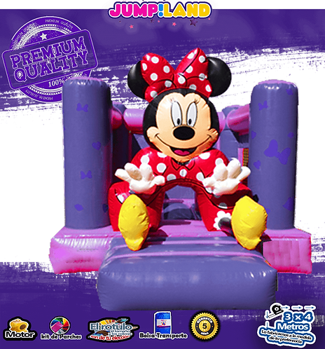 Inflable Cubo Mimi