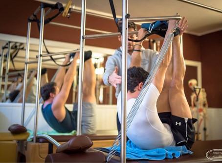 Il pilates: un allenamento da uomini.