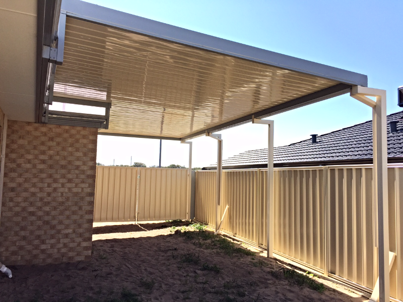 Mandurah Patios Raised Flat Carport