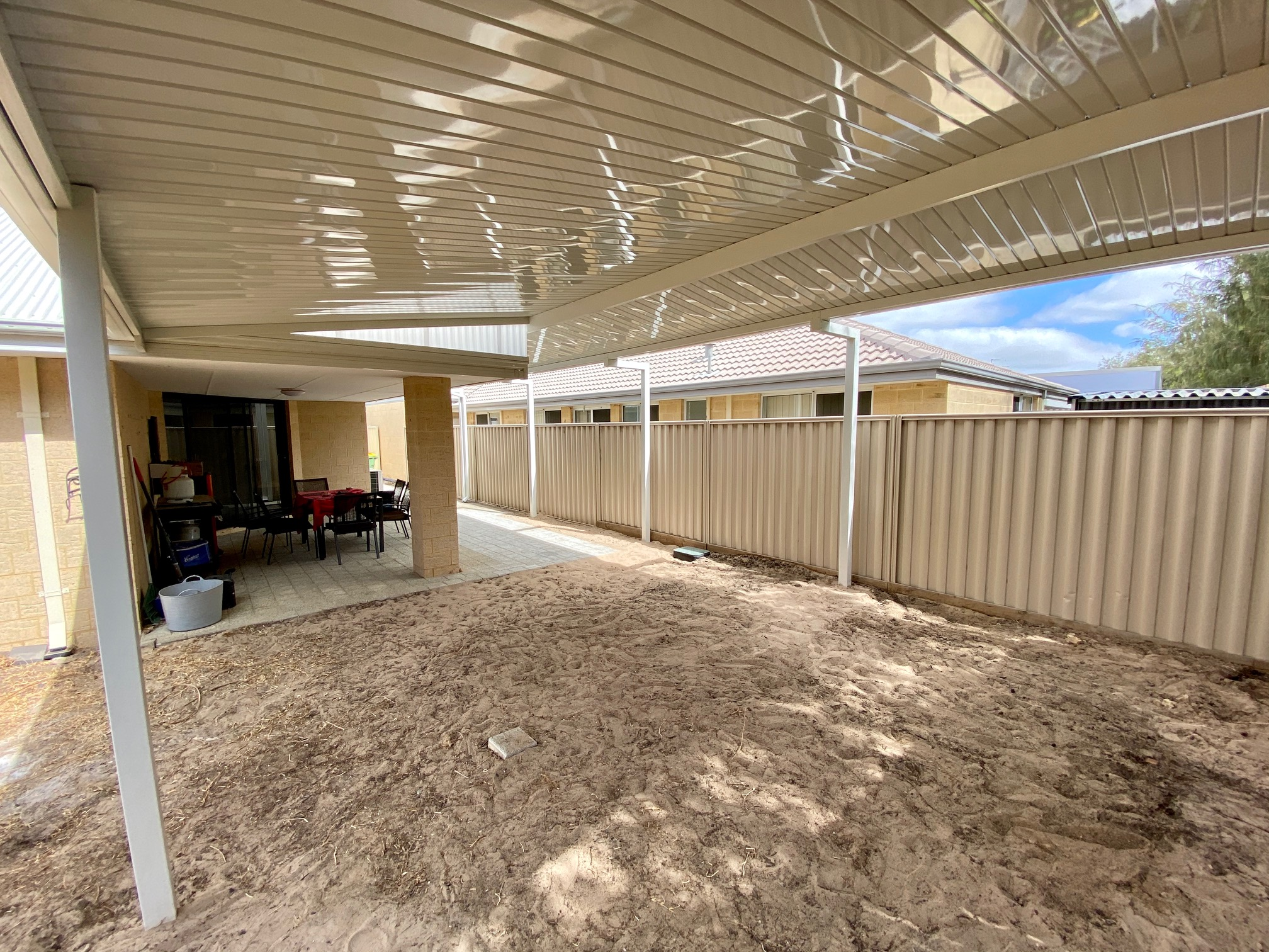 MANDURAH PATIOS DOUBLE RAISED FLAT CDEK